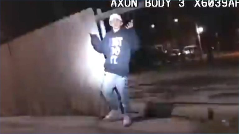 """Read more about the article """"Cold-Blooded Murder"""": Chicago Police Officer Shot 13-Year-Old Adam Toledo with His Hands in the Air"""