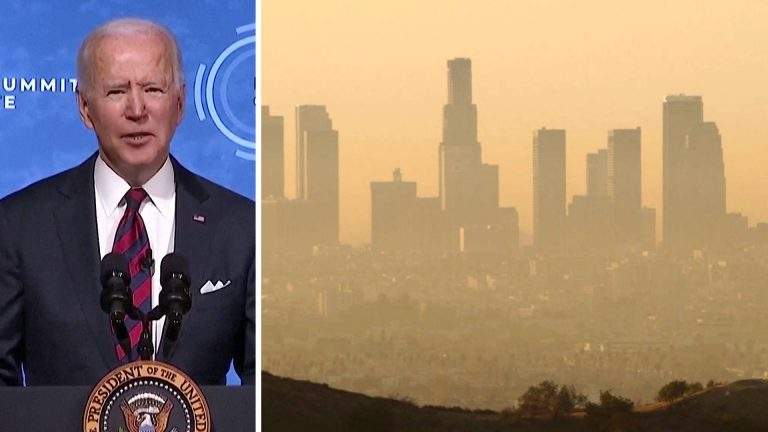 Read more about the article Biden Vows to Cut Emissions, But U.S. Continues to Subsidize Fossil Fuels Amid Climate Crisis