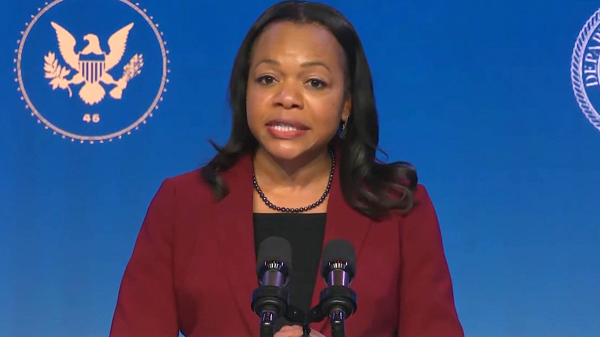 Read more about the article GOP Smears DOJ Civil Rights Pick Kristen Clarke in Latest Attack on Voting Rights & Racial Justice