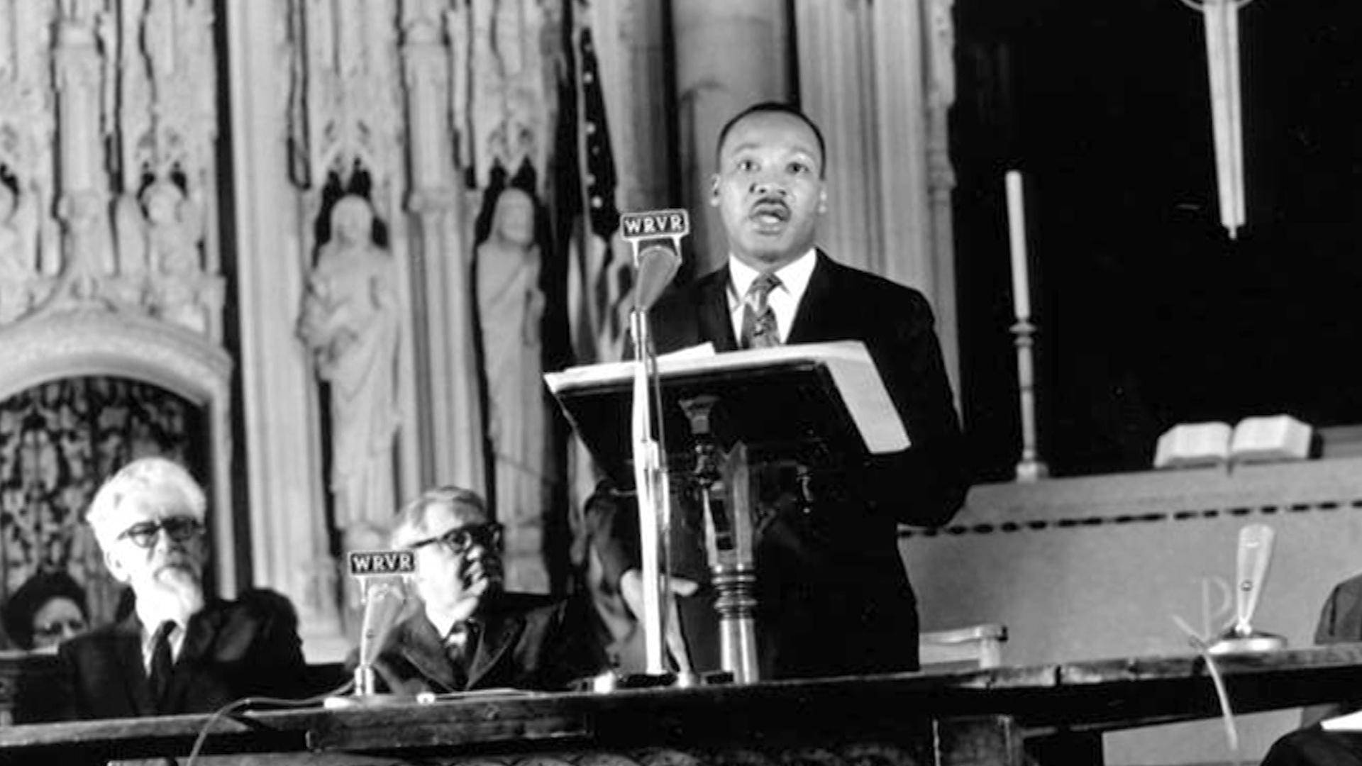 """Read more about the article MLK Opposed """"Poverty, Racism & Militarism"""" in Speech One Year Before His Assassination 53 Years Ago"""