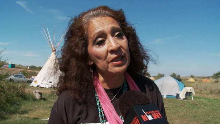 Read more about the article Remembering LaDonna Brave Bull Allard: Standing Rock Elder Helped Lead 2016 Anti-DAPL Uprising