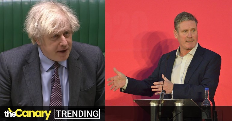 Read more about the article Keir Starmer won't support calls for an inquiry into Boris Johnson's dishonesty