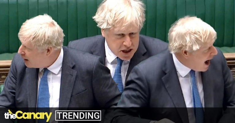 Read more about the article PMQs carnage as Boris Johnson repeatedly loses it