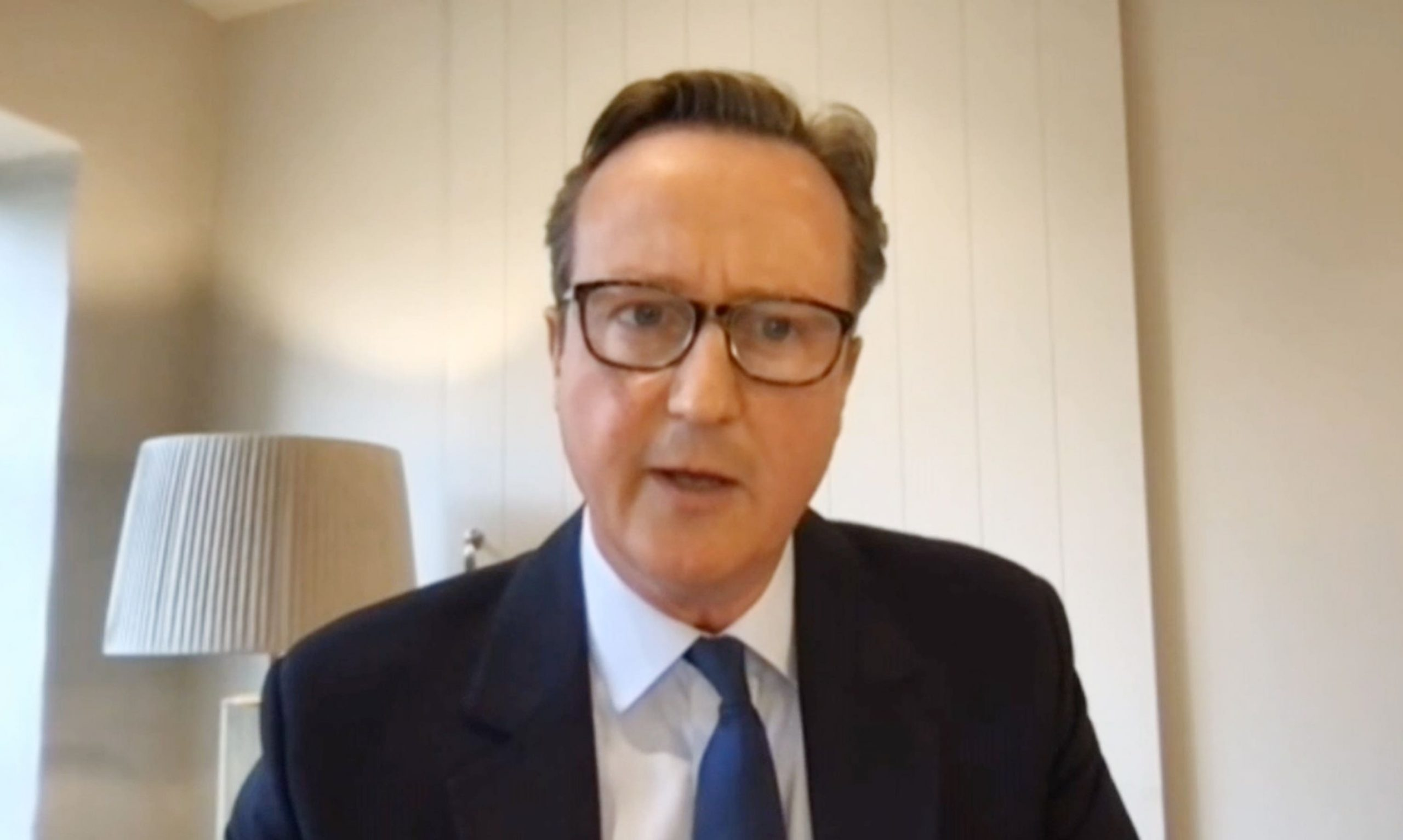 Read more about the article Cameron says he had 'big economic investment' in Greensill Capital