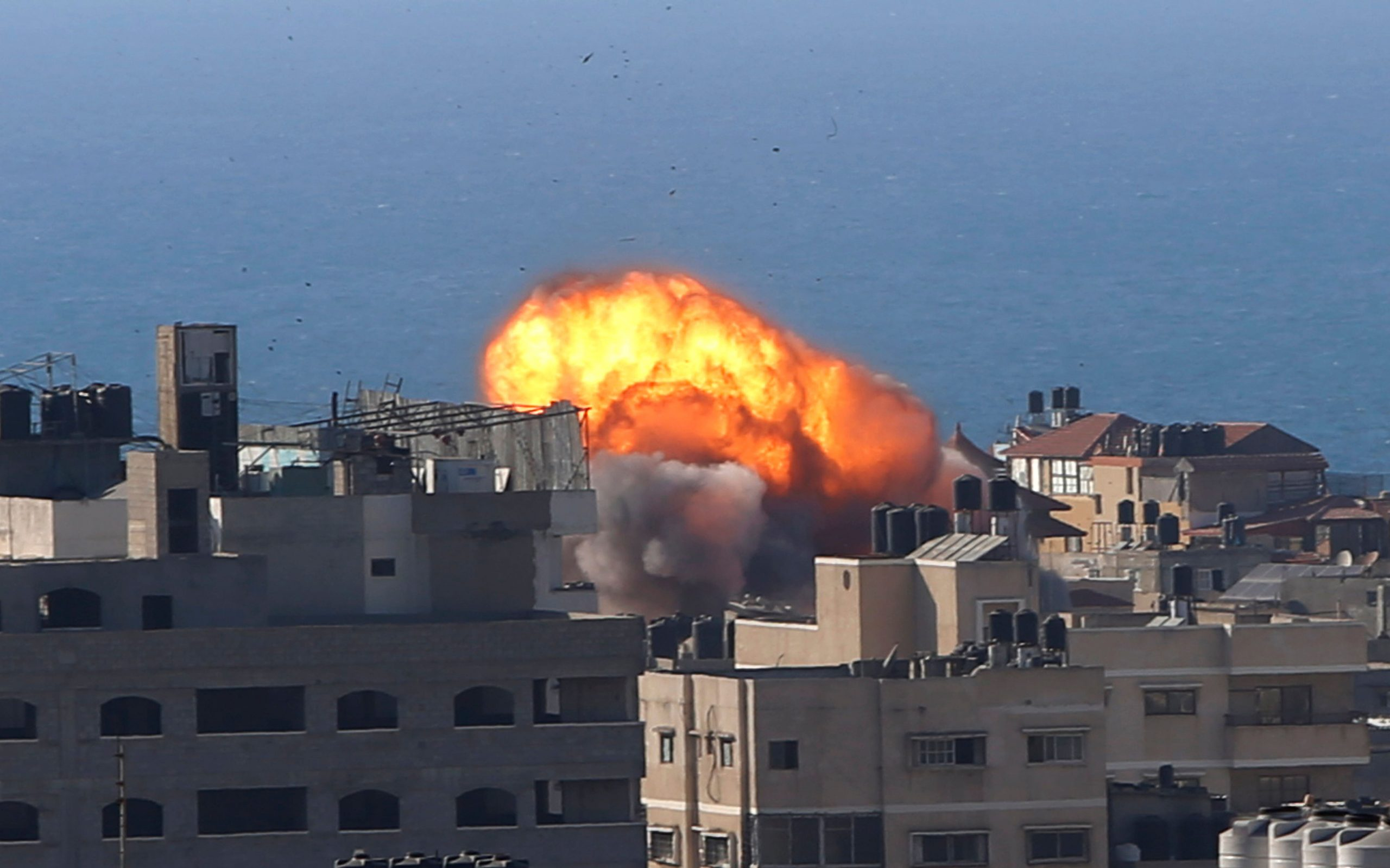 Read more about the article Israeli air strike on Gaza City kills 10 as unrest spreads to the West Bank
