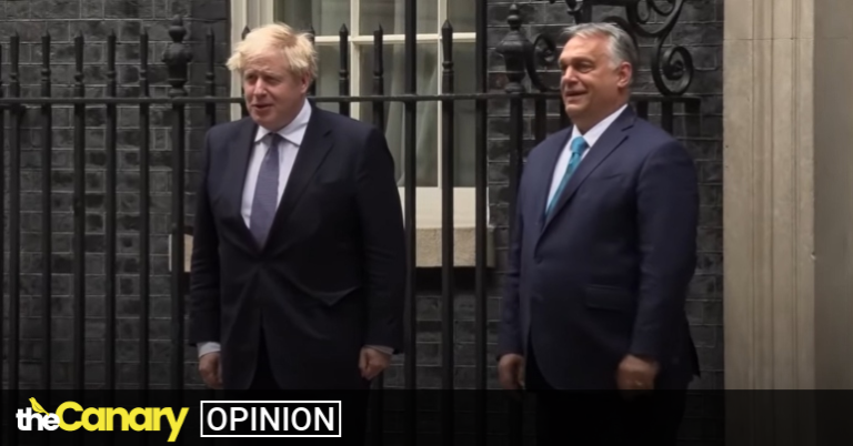 Read more about the article As Boris Johnson hosts Viktor Orbán, we now know who the real antisemite is