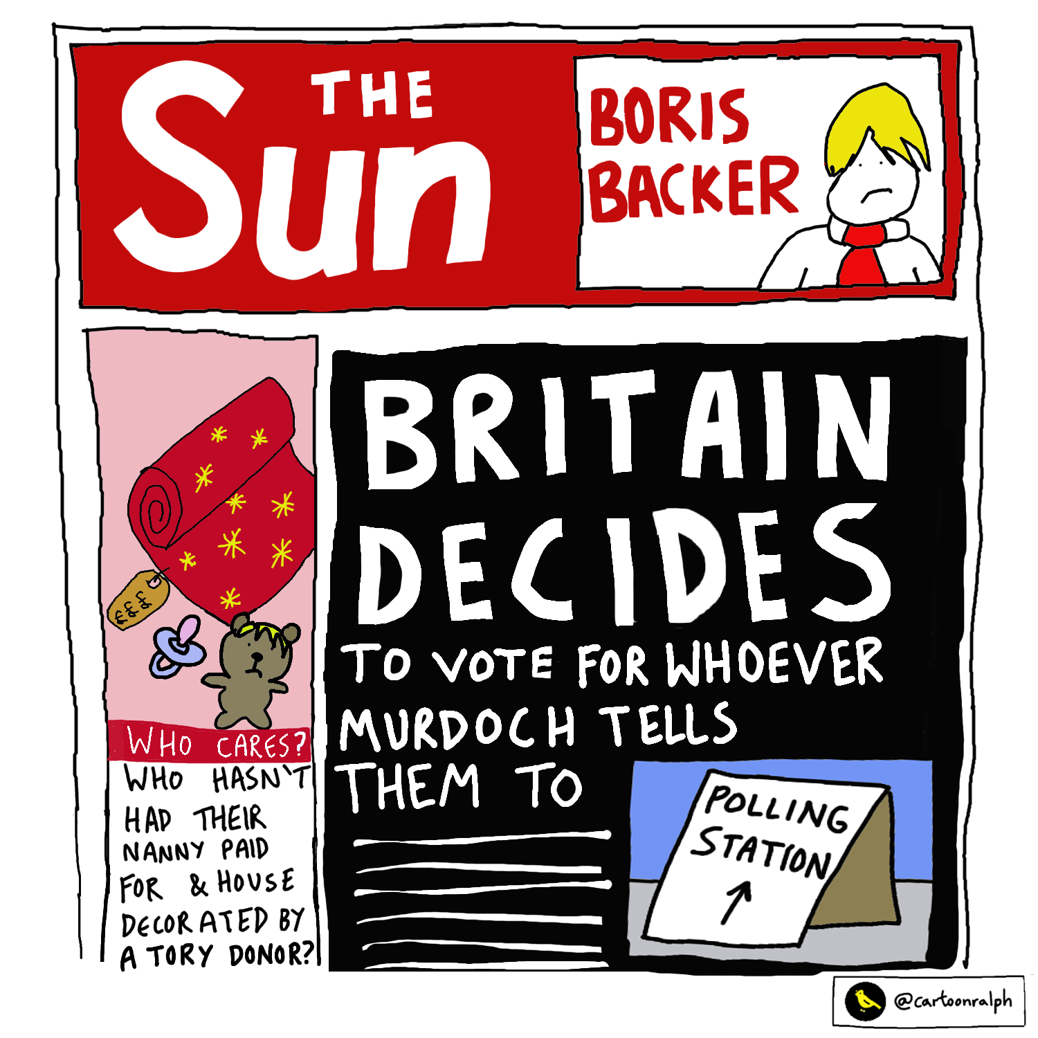 Read more about the article Britain decides… to vote for whoever Murdoch tells them to