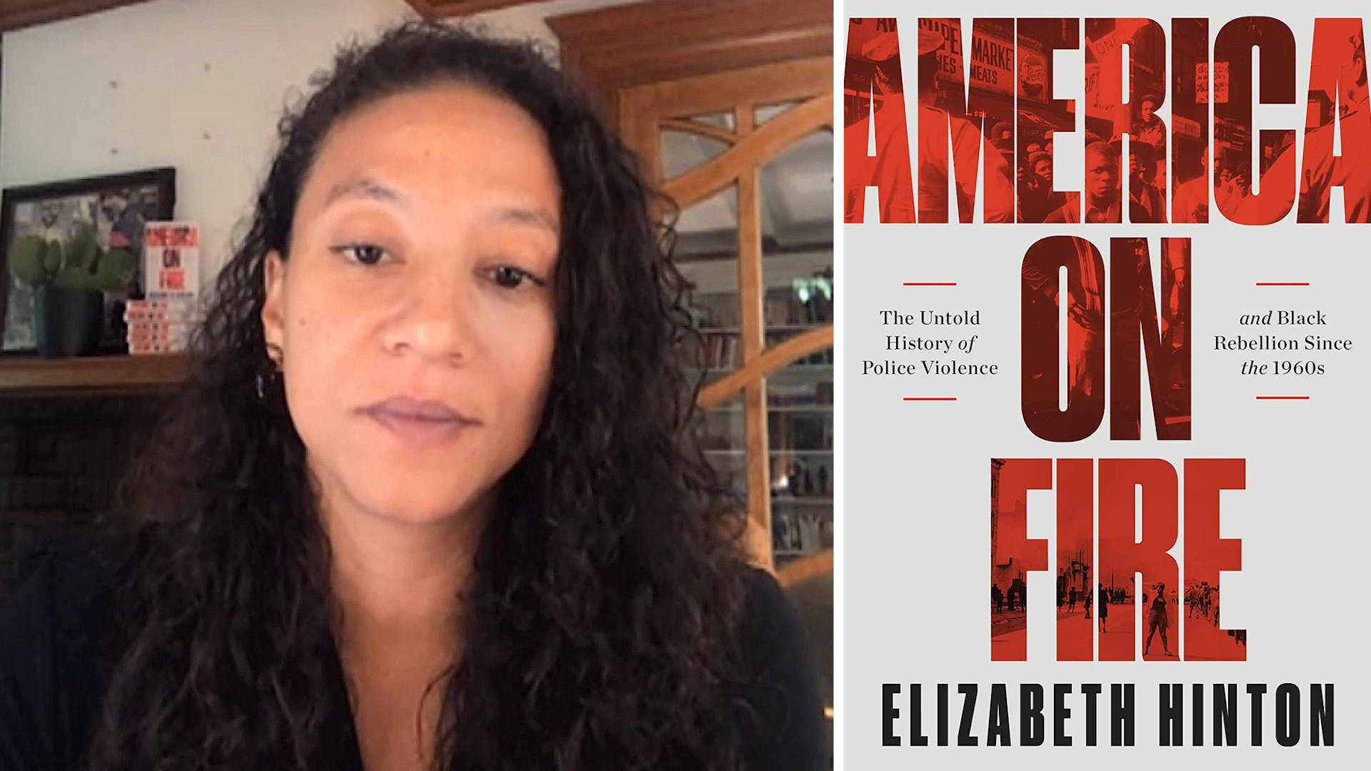 """Read more about the article """"America on Fire"""": Historian Elizabeth Hinton on George Floyd, Policing & Black Rebellion"""