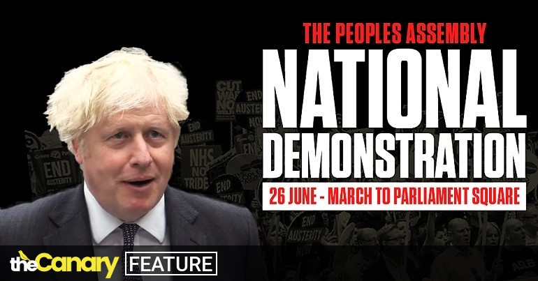 Read more about the article People are about to show why Boris Johnson's #NotFitToGovern