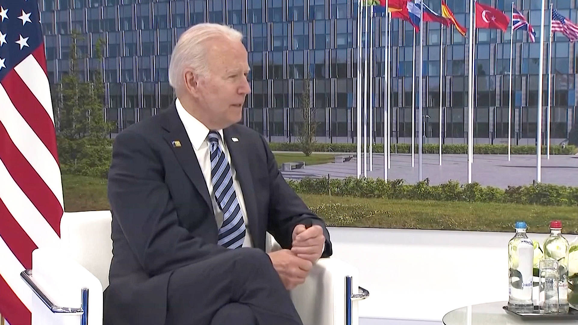 Read more about the article NATO Ramps Up Rhetoric Against China & Russia. Is Biden Leading the U.S. into a New Cold War?
