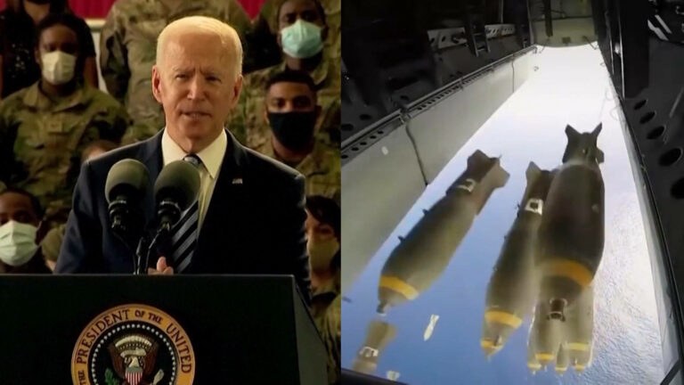 """Read more about the article U.S. Led 2020 Nuclear Weapons Spending; Now Biden Going """"Full Steam Ahead"""" on Trump's Nuclear Plans"""