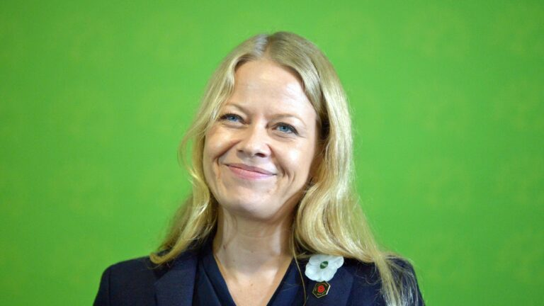 Read more about the article Green Party co-leader Sian Berry to quit over 'failure' on trans rights