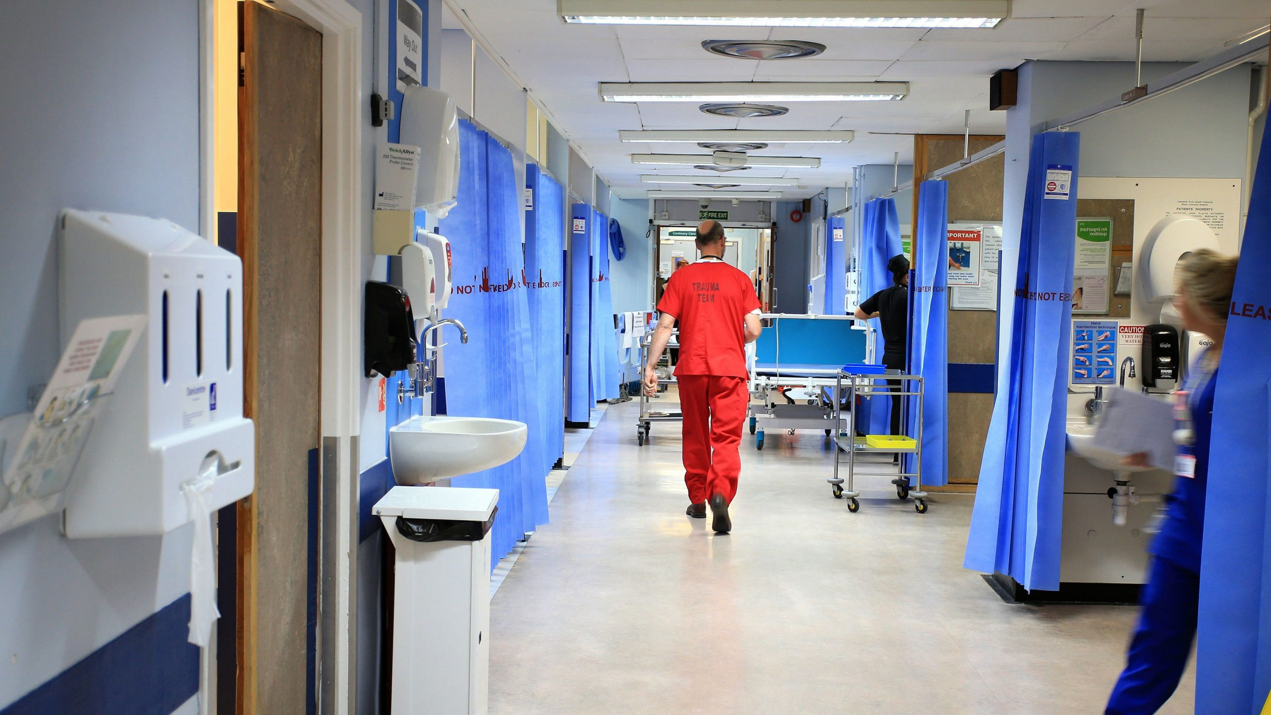 Read more about the article NHS is as stretched now as it was in January – health leaders