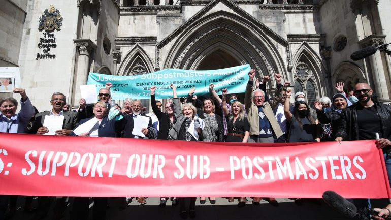 Read more about the article More subpostmasters have convictions quashed by Court of Appeal