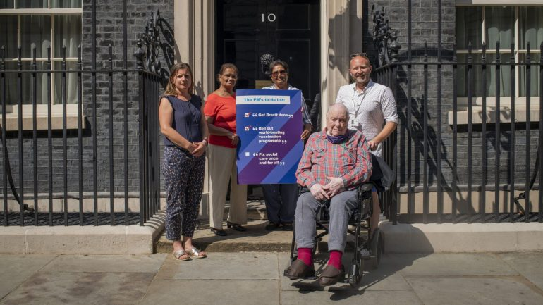 Read more about the article After two years of hot air, charities demand Boris Johnson honours his care pledge