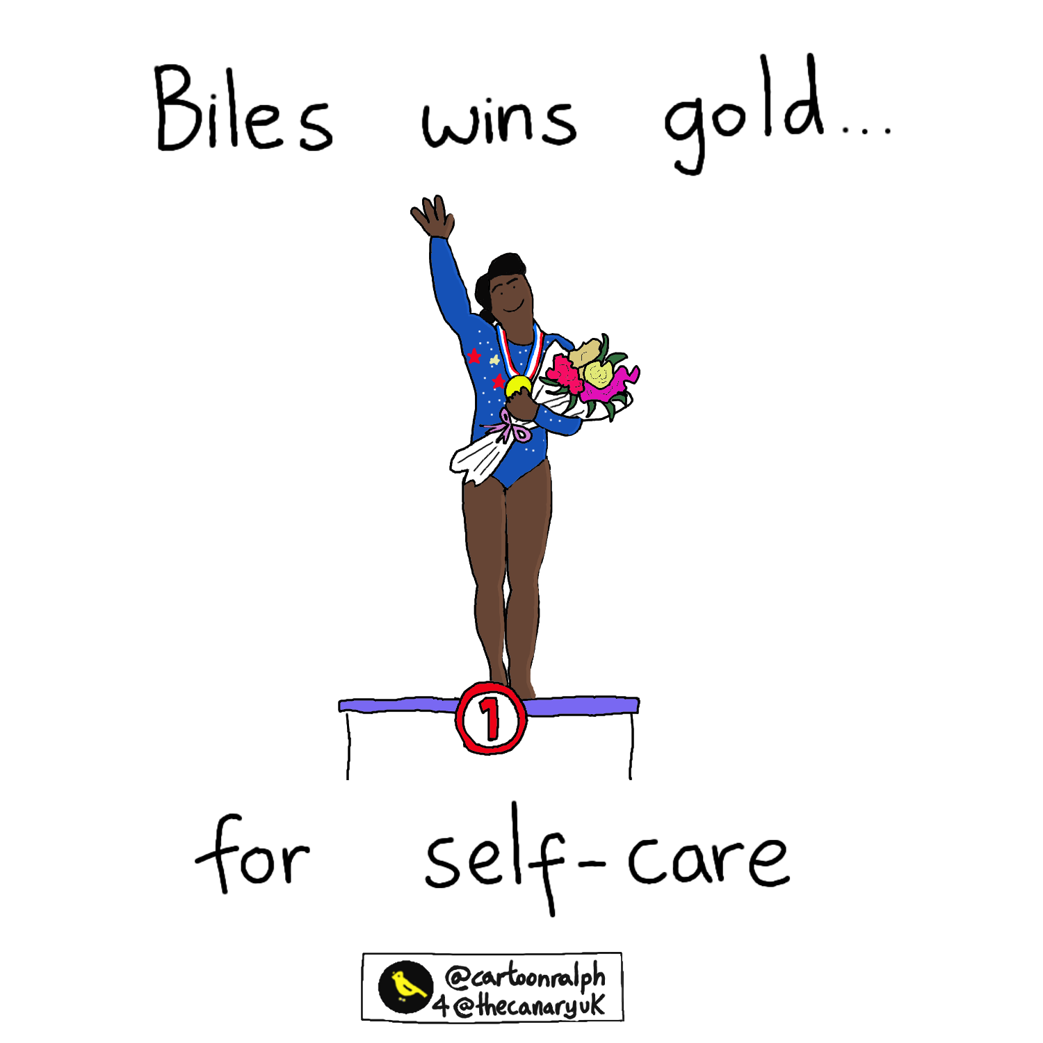Read more about the article Biles wins gold…