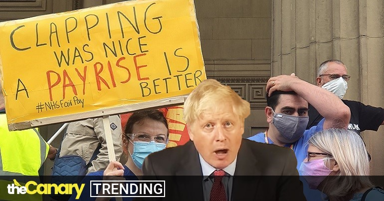 You are currently viewing Boris Johnson is about to get a visit from NHS workers