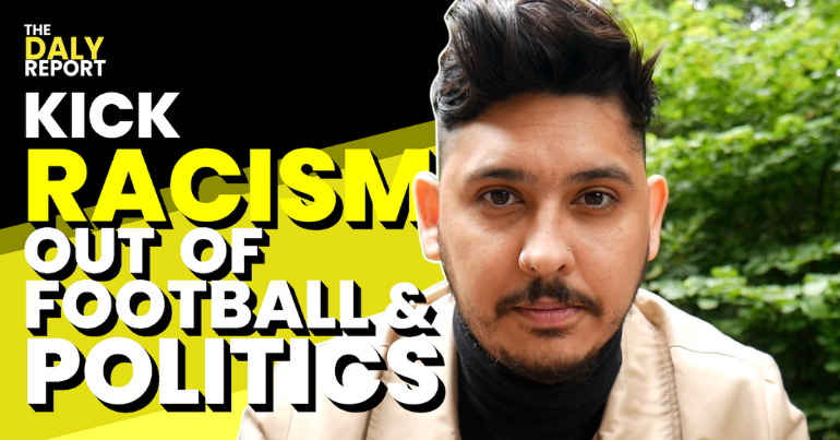 Read more about the article Kick racism out of football and politics