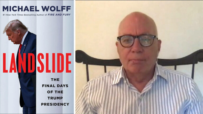 """Read more about the article """"Landslide"""": Michael Wolff on Trump's Final Days in Office & Why He Still Rules the Republican Party"""