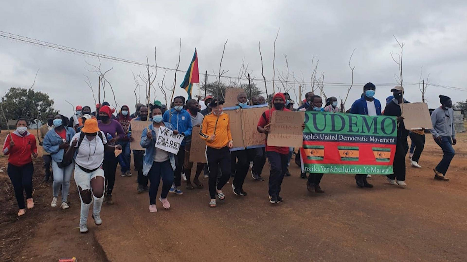 Read more about the article Eswatini, Formerly Swaziland, Sees Brutal Government Crackdown on Mass Protests over Inequality