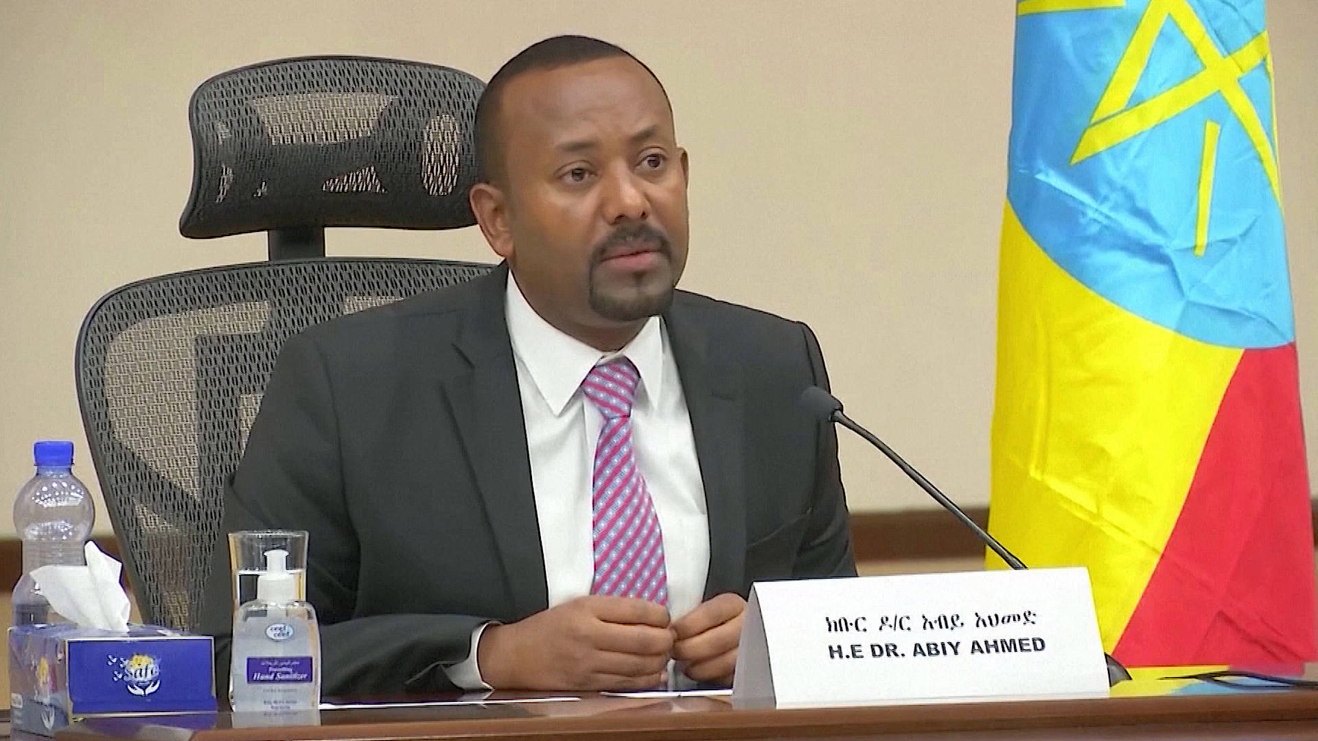 """Read more about the article """"He Was Defeated"""": Ethiopian PM Withdraws from Tigray After Months of Civil War, as Famine Looms"""