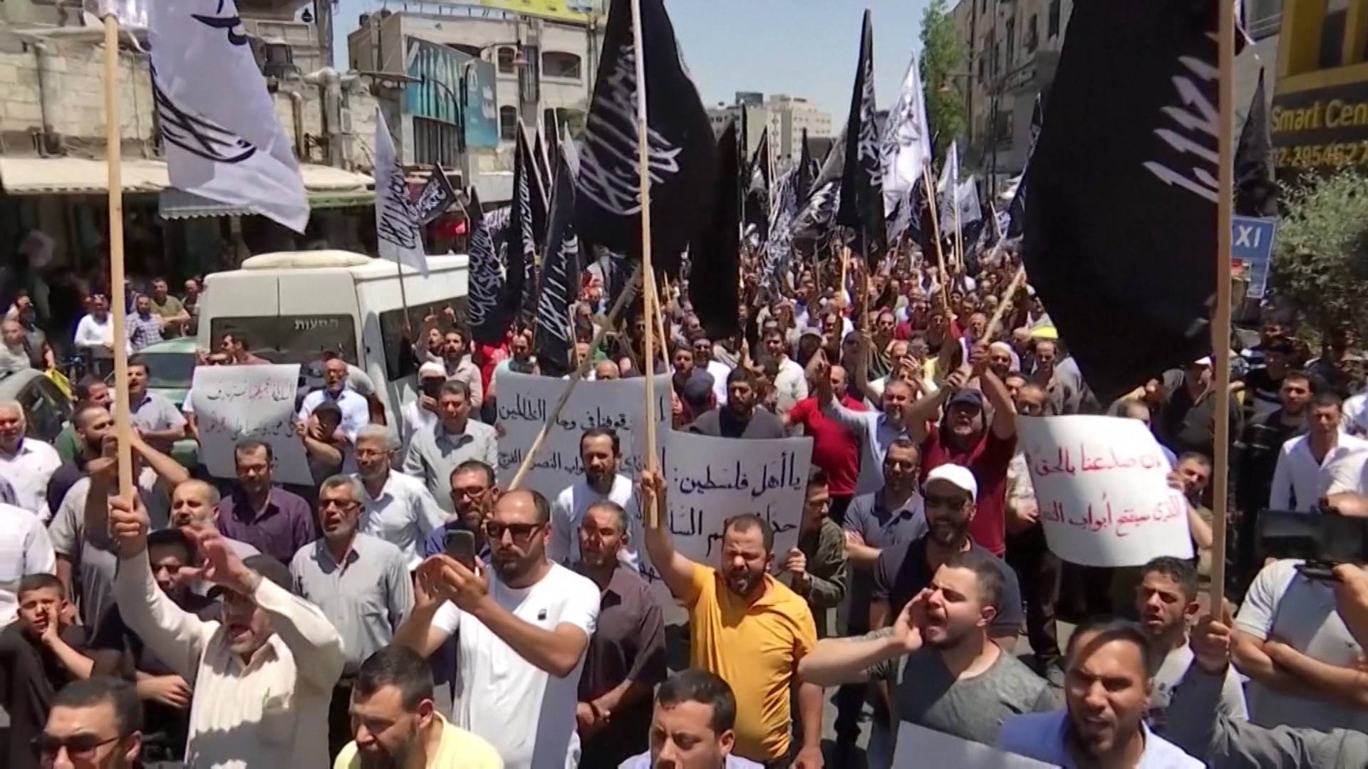 """Read more about the article """"Police State Without the State"""": Palestinian Authority Faces Protests over Critic's Death in Custody"""