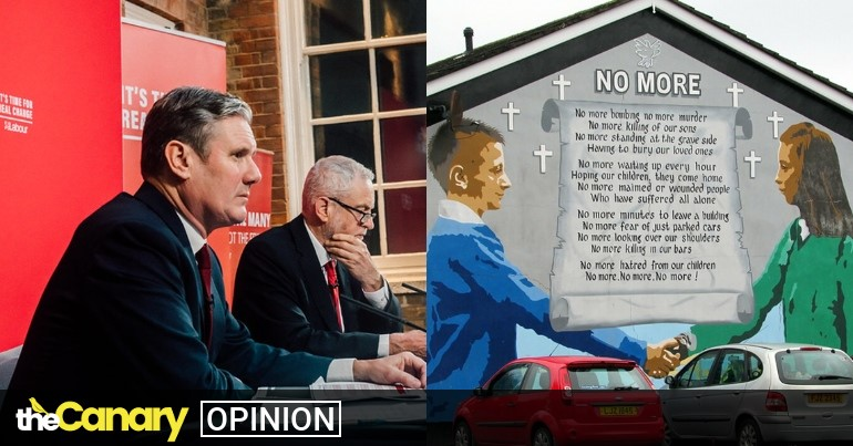 Read more about the article In 60 seconds Kier Starmer shows he knows nothing about Northern Ireland's peace agreement