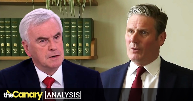 Read more about the article John McDonnell's Labour group is taking aim at Keir Starmer