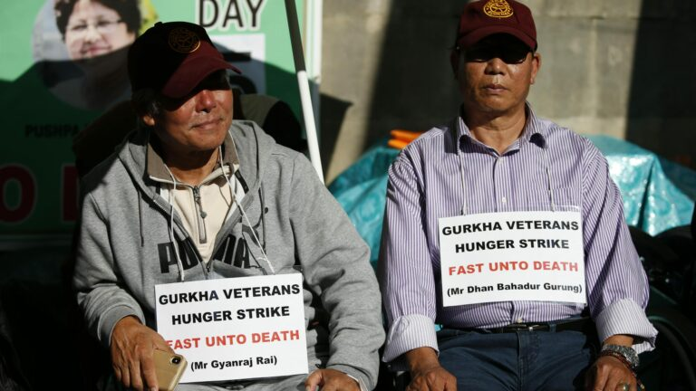 Read more about the article Boris Johnson refuses to meet Gurkhas on hunger strike
