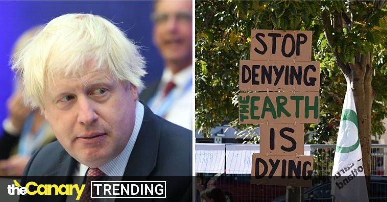 Read more about the article More lies and distraction from Boris Johnson with his latest comments on coal
