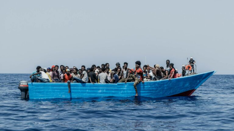 """Read more about the article Refugees Continue to Face """"Extreme Danger"""" in Mediterranean Sea as Aid Groups Scramble to Respond"""