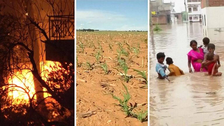 """Read more about the article """"A Code Red for Humanity"""": Major U.N. Report Warns of Climate Catastrophe If Urgent Action Not Taken"""