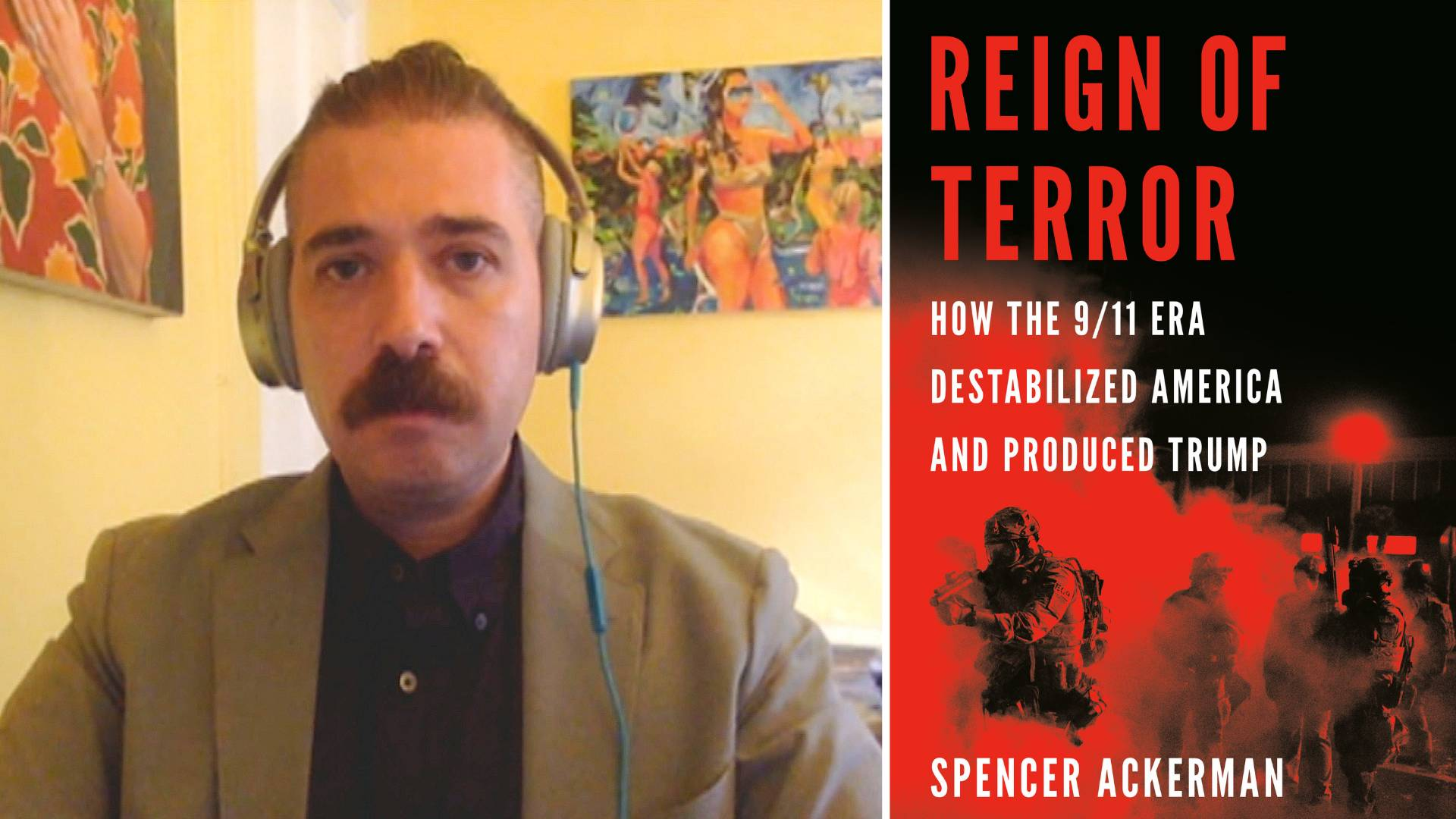 Read more about the article Spencer Ackerman: Today's Crisis in Kabul Is Direct Result of Decades of U.S. War & Destabilization