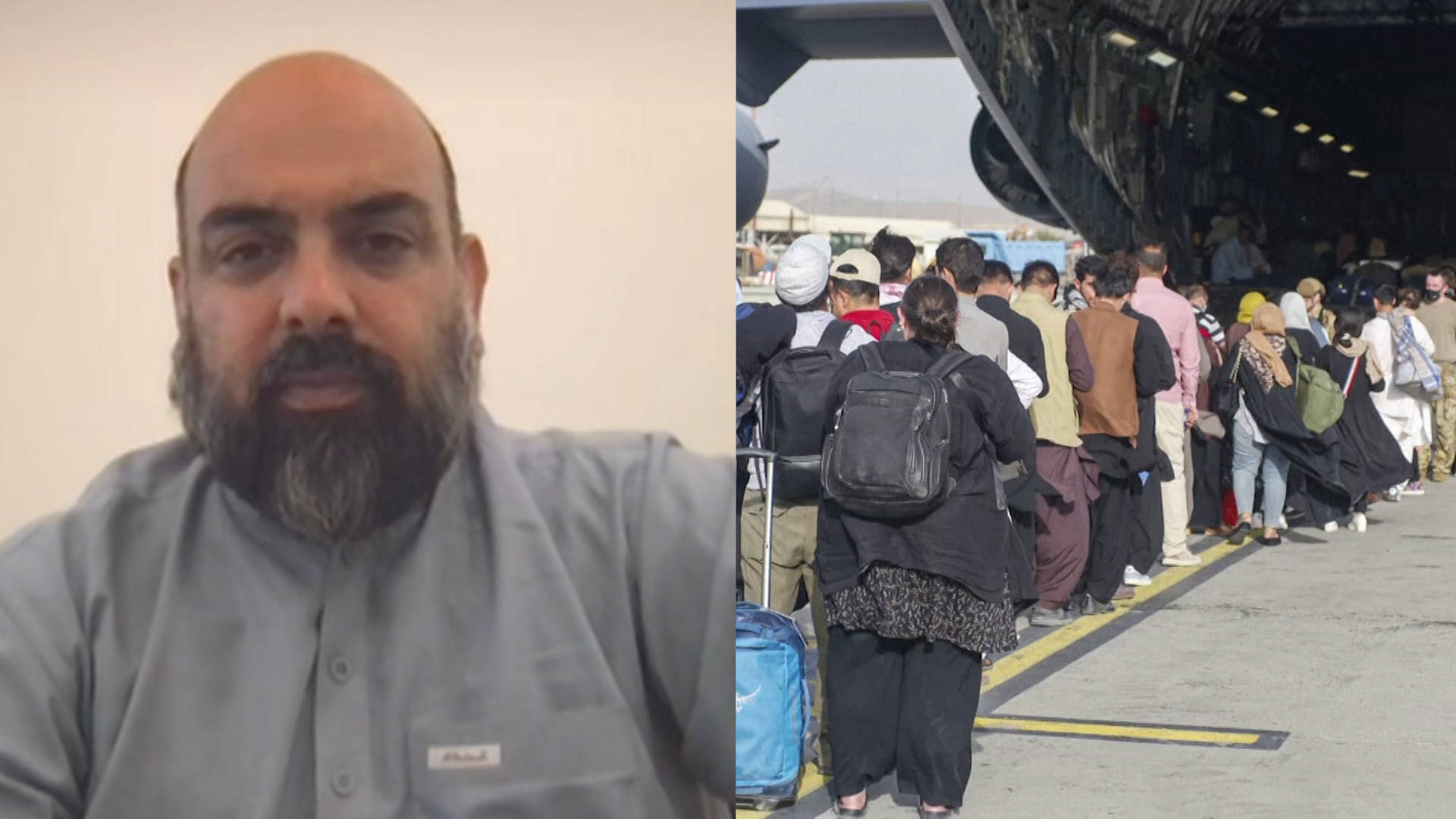 """Read more about the article """"Massacre of My Dreams"""": Afghan Reporter Bilal Sarwary on Fleeing Kabul & Afghanistan's """"Brain Drain"""""""