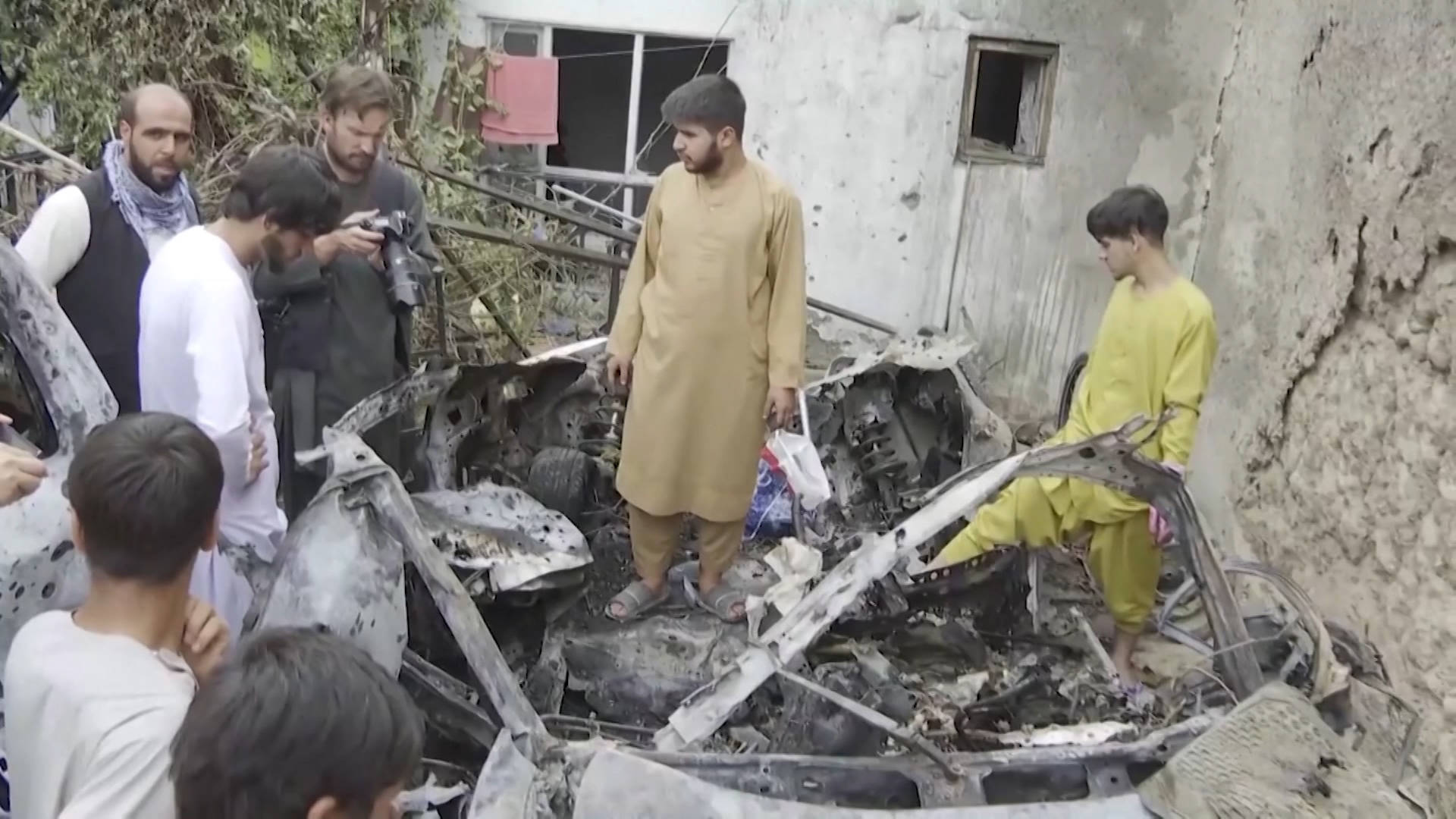 Read more about the article Afghanistan Faces Future Under Taliban as U.S. Withdraws & Drone Strikes Continue to Kill Civilians