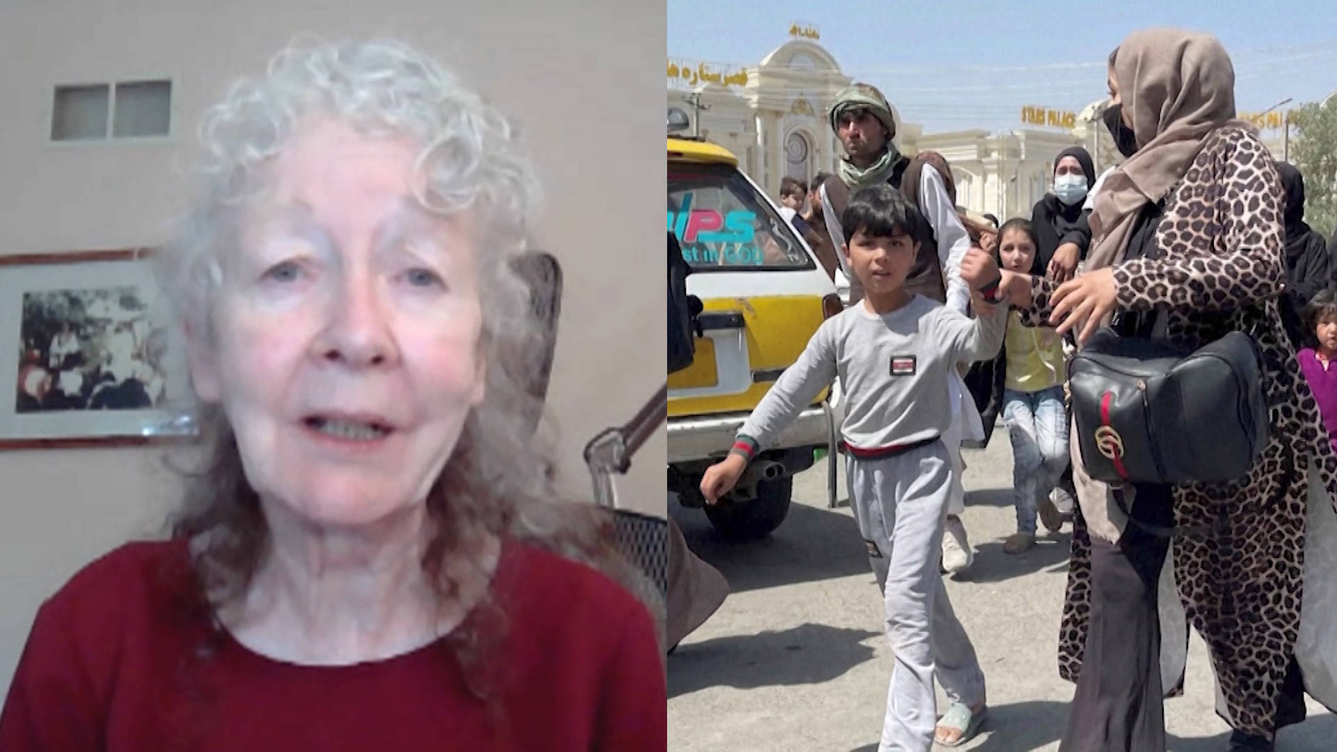 You are currently viewing Peace Activist Kathy Kelly on Reparations for Afghanistan & What the U.S. Owes After Decades of War