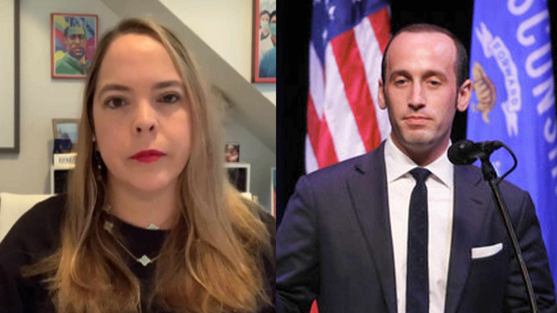 """Read more about the article Ex-Pence Aide: Stephen Miller's """"Racist Hysteria"""" Made It Harder for Afghan Allies to Get Visas"""