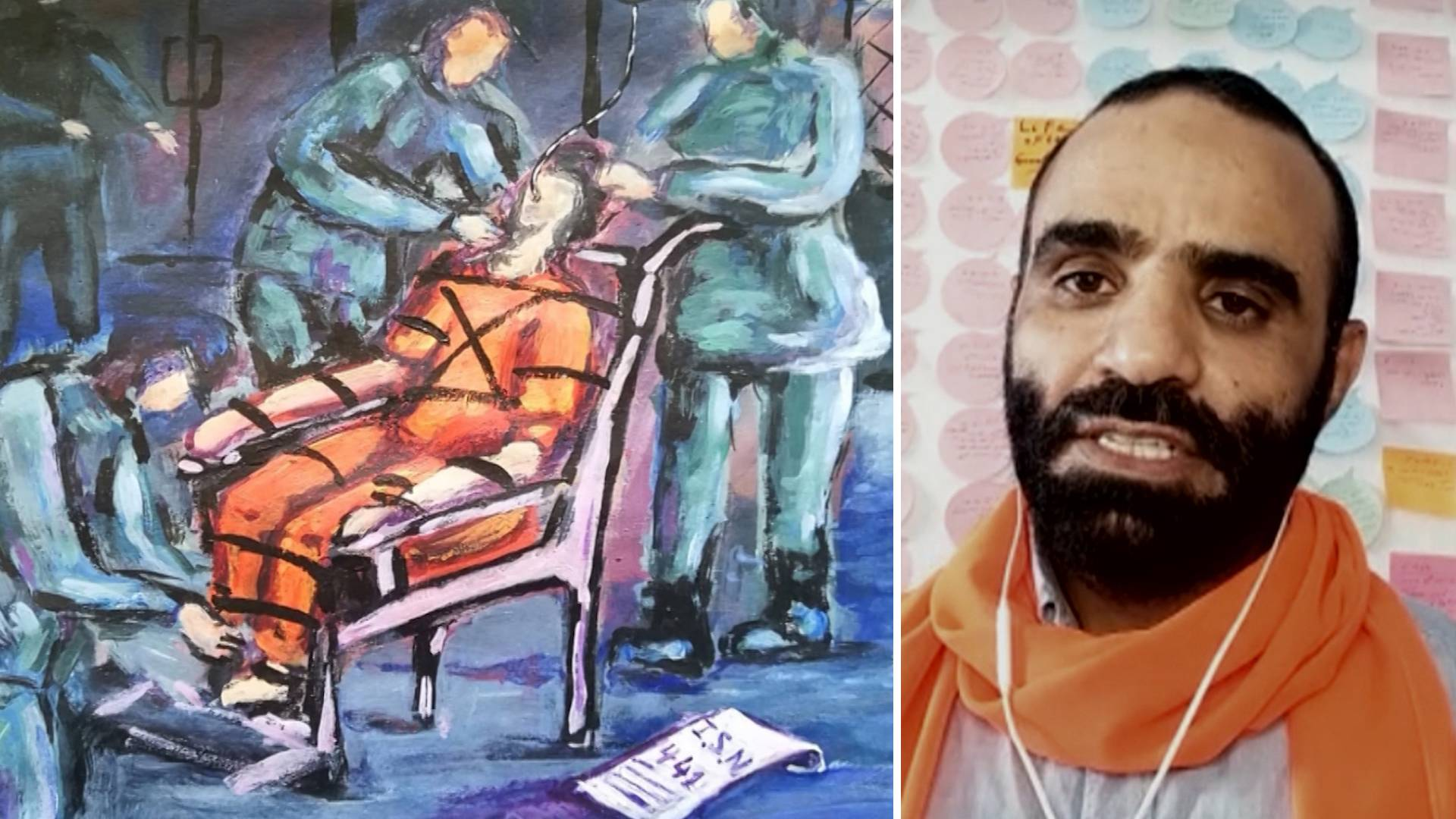 Read more about the article Meet Mansoor Adayfi: I Was Kidnapped as a Teen, Sold to the CIA & Jailed at Guantánamo for 14 Years