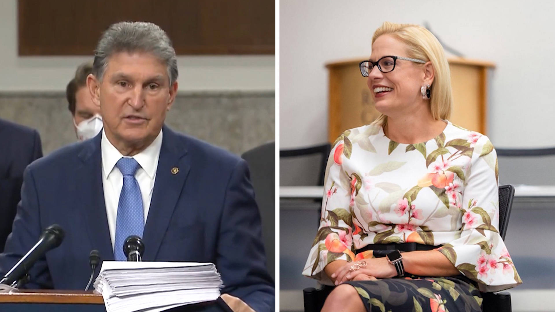 """Read more about the article """"We Need to Deliver"""": Anger Grows at Sens. Manchin, Sinema over Obstruction of Democratic Priorities"""