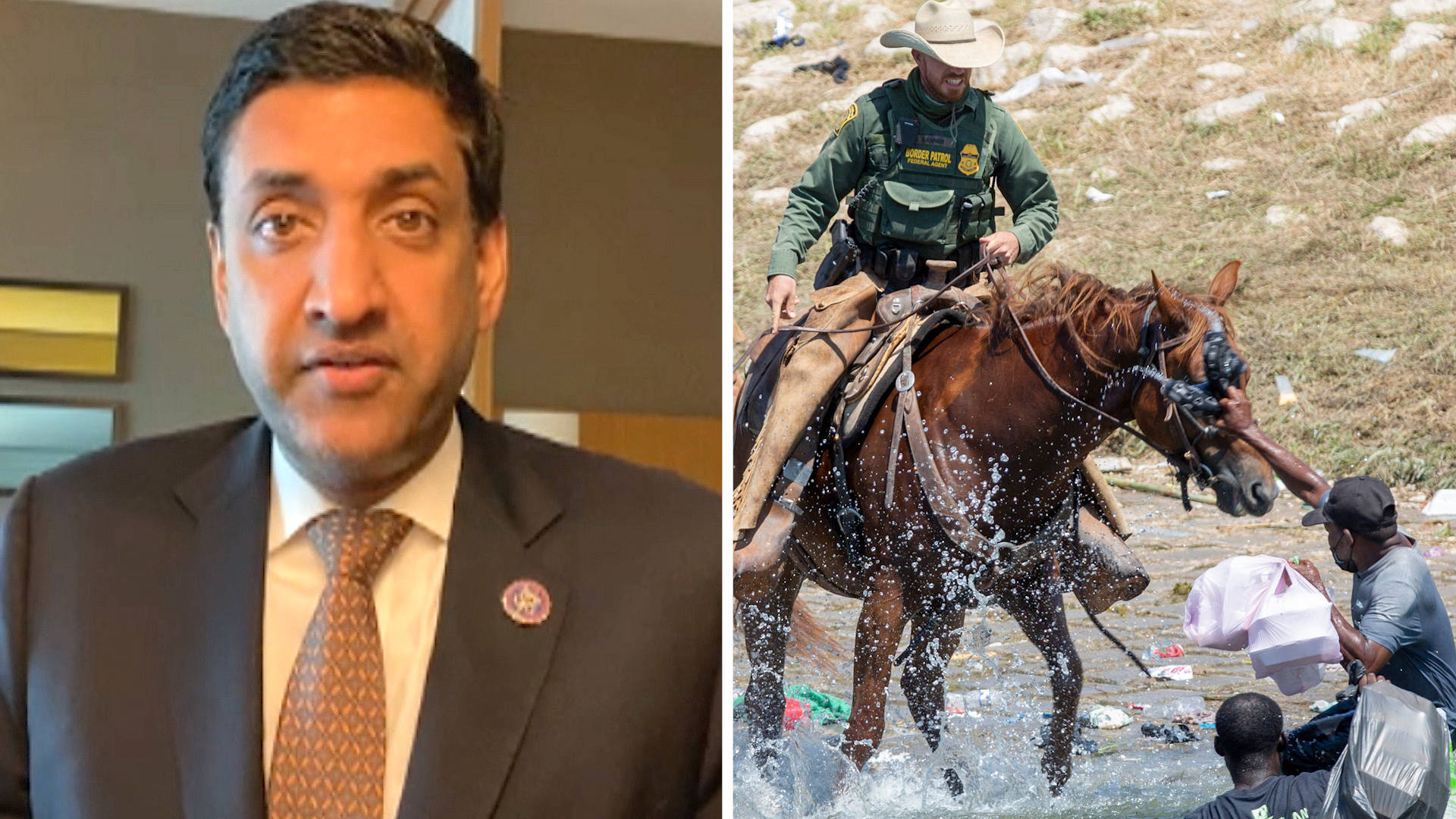 Read more about the article Rep. Ro Khanna on Border Guards Whipping Haitians, U.S. Drone Strikes, Afghanistan & Ending Iraq War