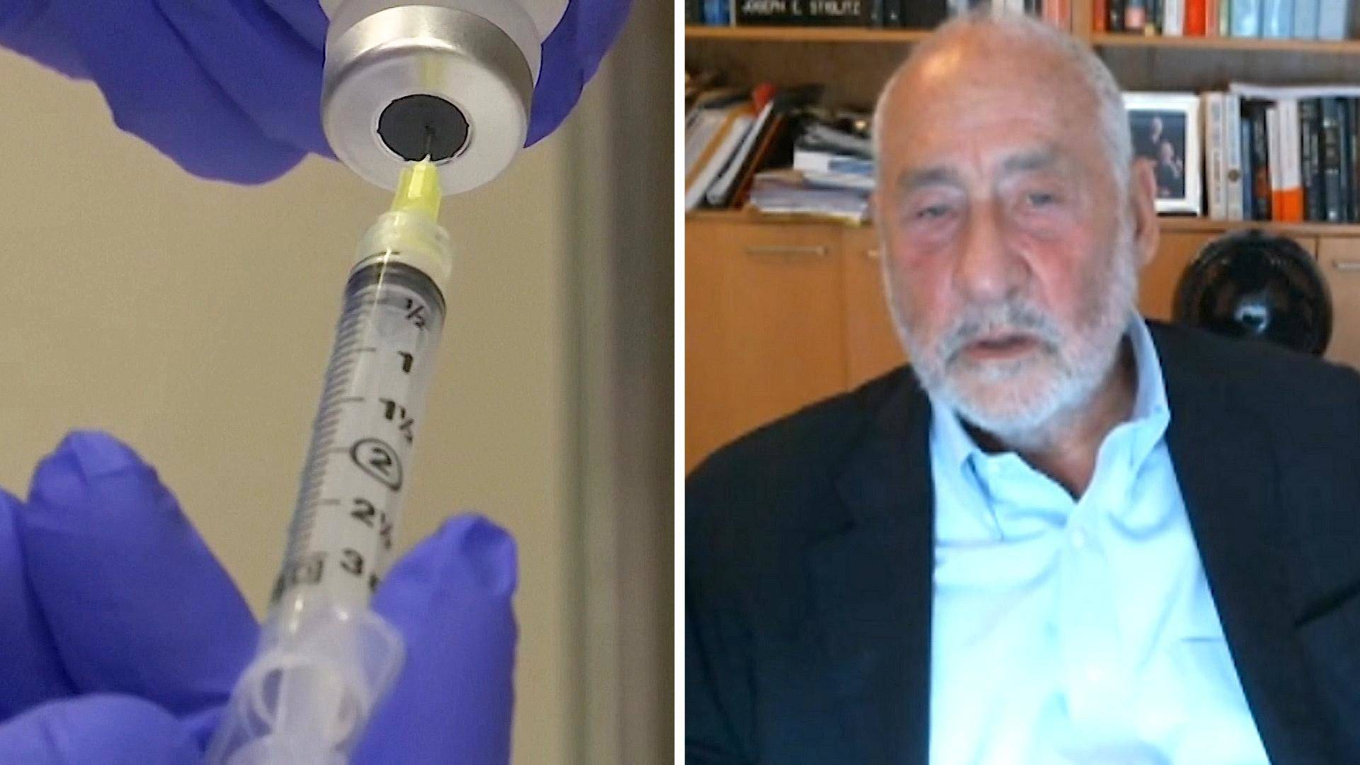 """Read more about the article """"Will Corporate Greed Prolong the Pandemic?"""": Nobel Laureate Joseph Stiglitz on Global Vaccine Equity"""