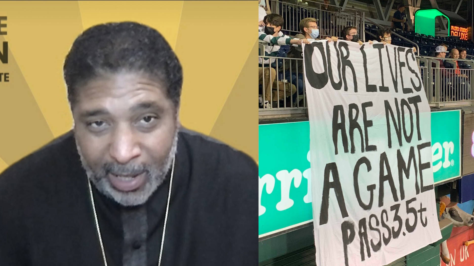 """Read more about the article """"A Moral Crisis"""": Reverend William Barber on Why Congress Must Pass $3.5 Trillion Bill"""
