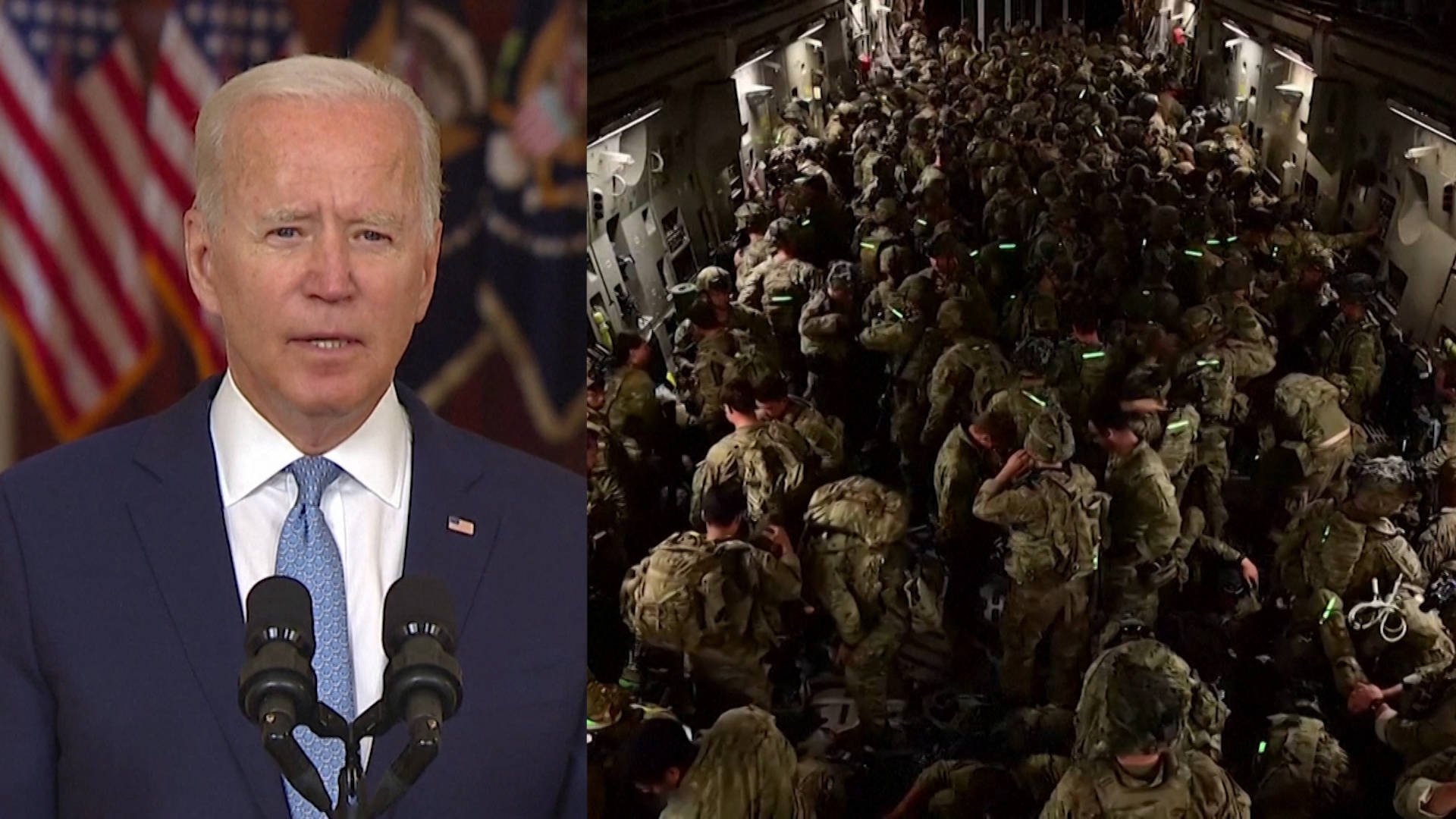 """Read more about the article Biden Defends Ending """"Forever War"""" in Afghanistan & Criticizes Using War as Tool for Nation-Building"""