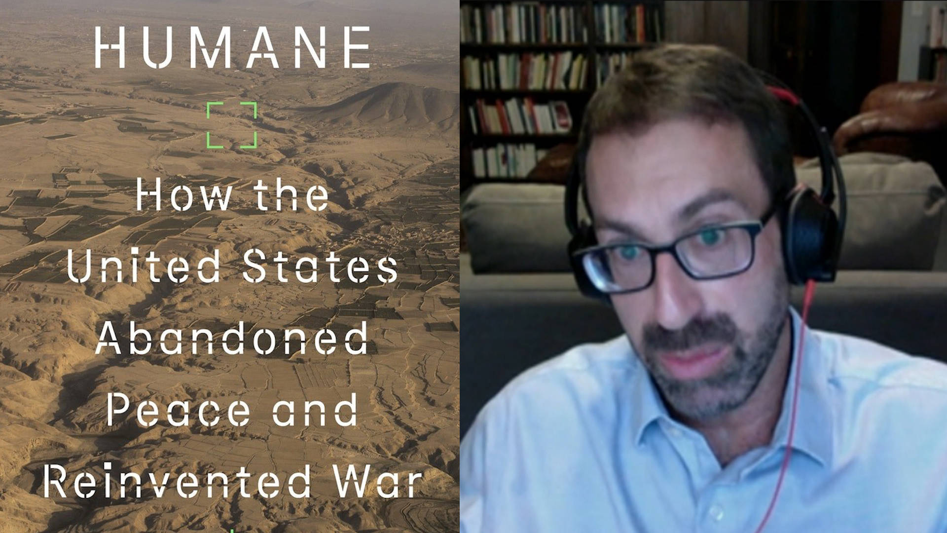 """Read more about the article """"Humane"""": Yale Historian Samuel Moyn on """"How the United States Abandoned Peace and Reinvented War"""""""