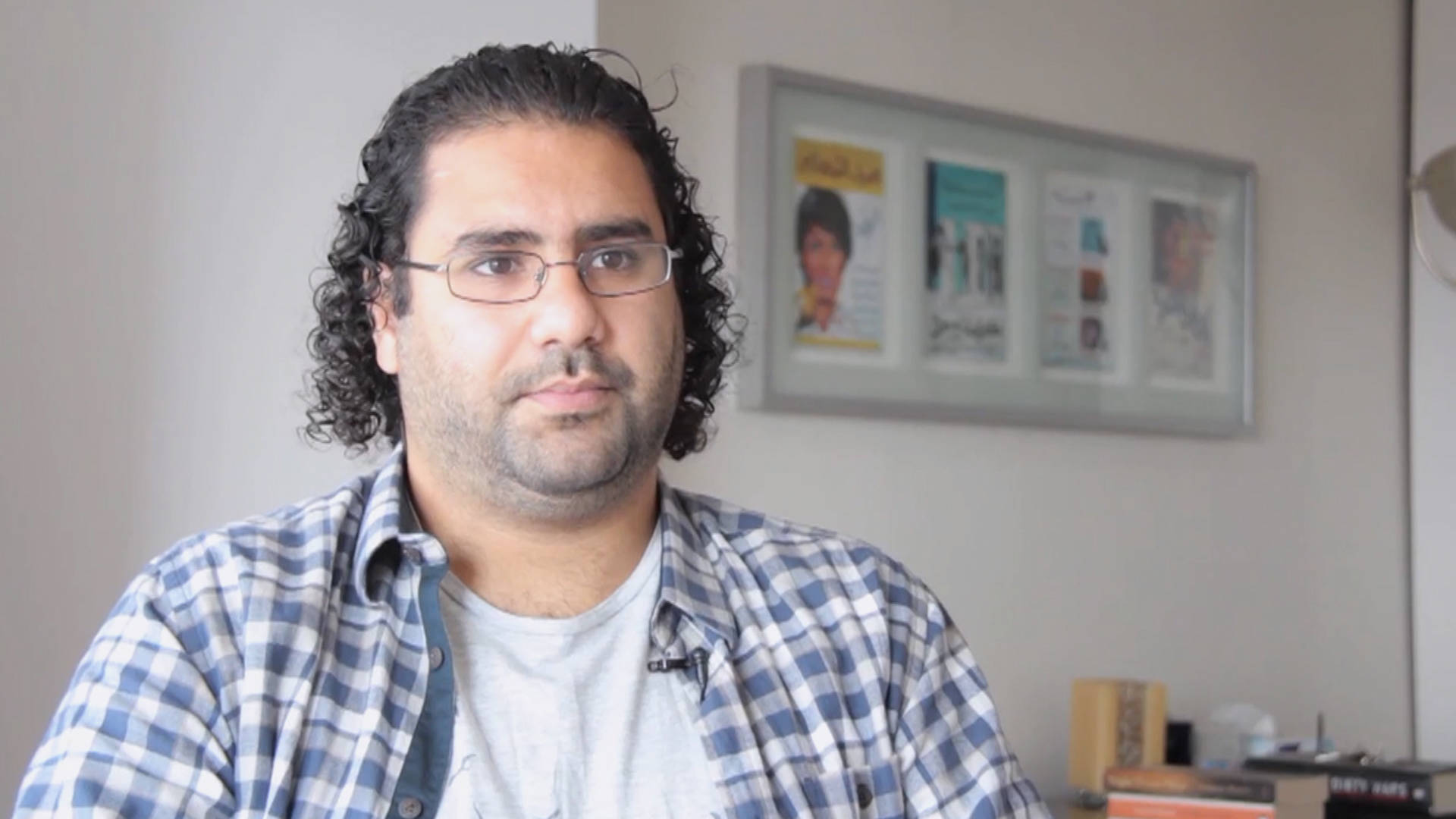 Read more about the article Jailed Egyptian Activist Alaa Abd El-Fattah Publishes Prison Writings as Sisi Cracks Down on Dissent
