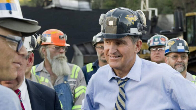 """Read more about the article """"Dirty Empire"""": Sen. Joe Manchin Demands Dems Drop Climate Funding as He Makes Millions from Coal"""