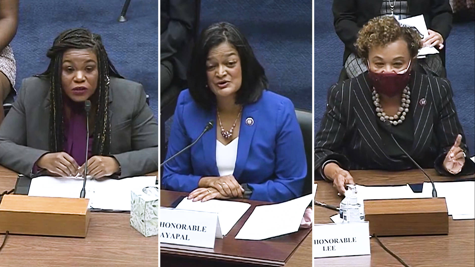 """Read more about the article """"We Demand Better"""": Reps. Cori Bush, Pramila Jayapal & Barbara Lee Share Their Own Abortion Stories"""