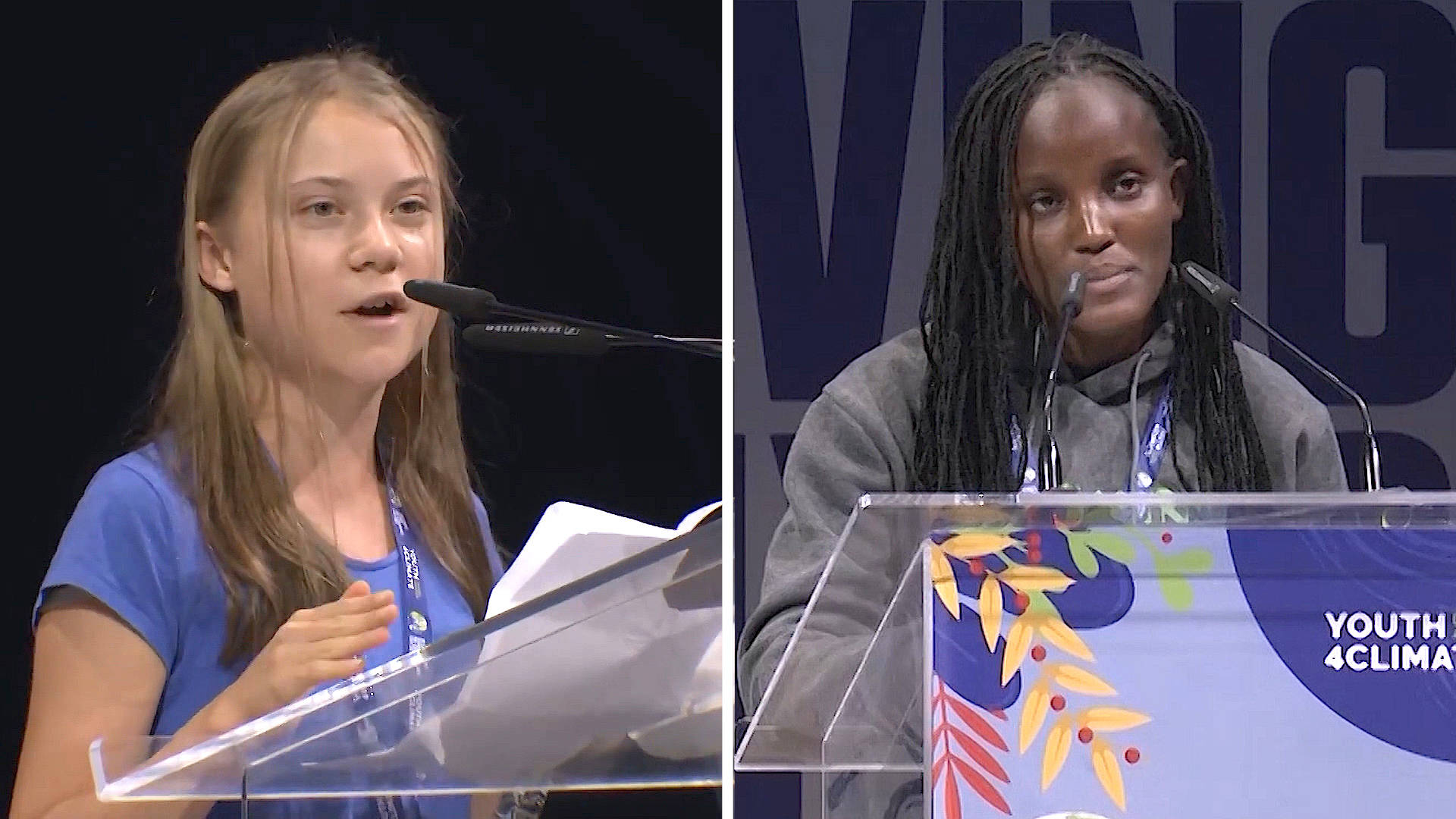 """Read more about the article """"Blah, Blah, Blah"""": Youth Climate Activists Slam Political Inaction at U.N. Summit Ahead of COP26"""