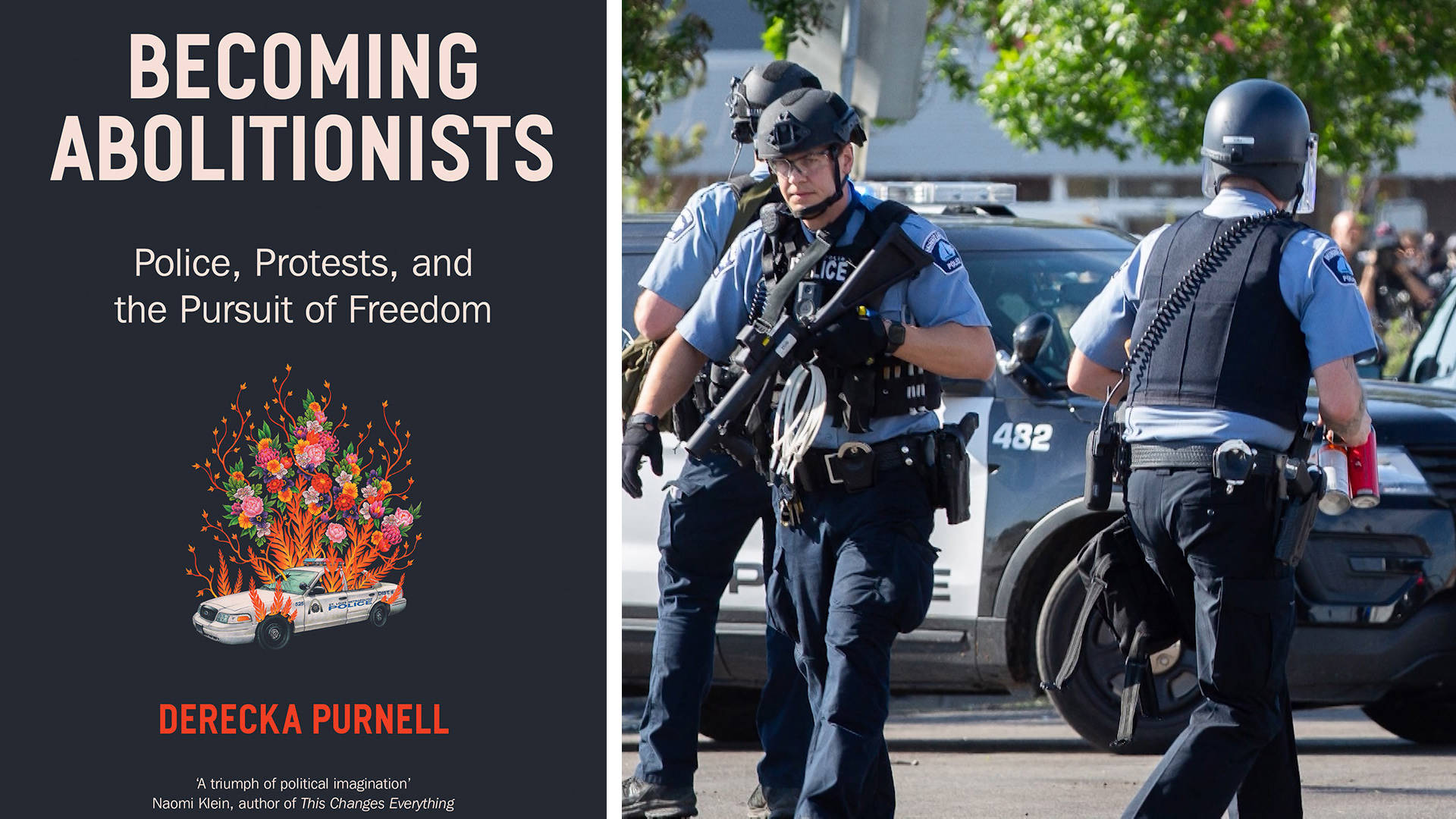 """Read more about the article """"Becoming Abolitionists"""": Derecka Purnell on Why Police Reform Is Not Enough to Protect Black Lives"""