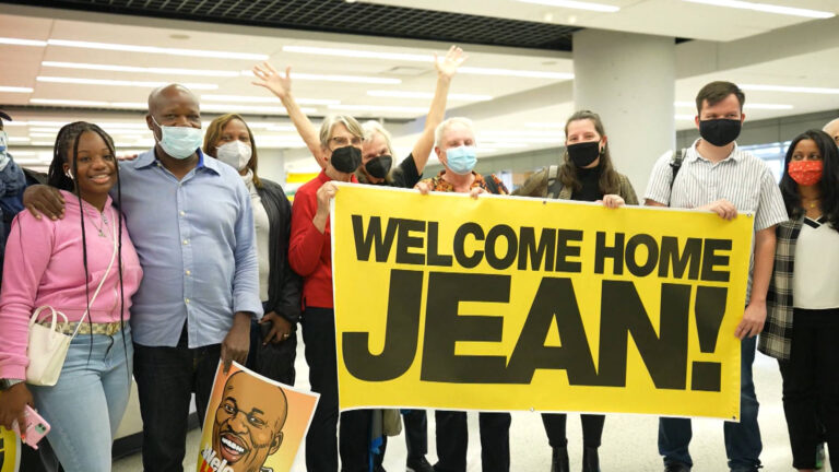 """Read more about the article """"Second Chance"""": Deported to Haiti, Immigrant Activist Jean Montrevil Returns to U.S. on Special Parole"""